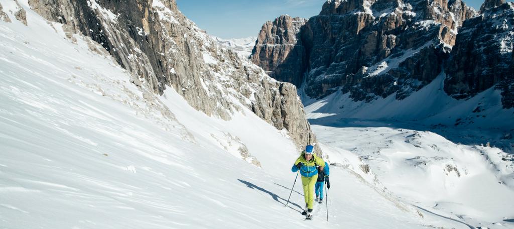 Dĺžka, o dĺžke skialpových lyží platí zhruba to čo pri zjazdových lyžiach -sportby.sk